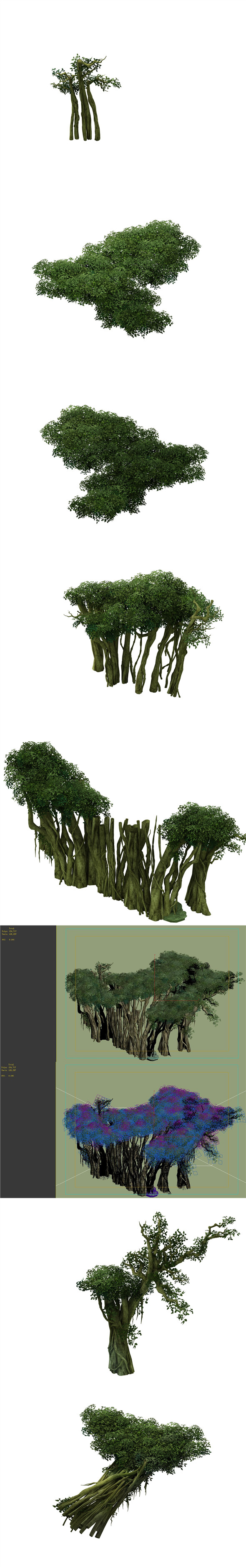 Game Model - Forest - Tree 14 - 3DOcean Item for Sale
