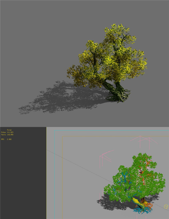 Game Model - Forest - Tree 20 - 3DOcean Item for Sale
