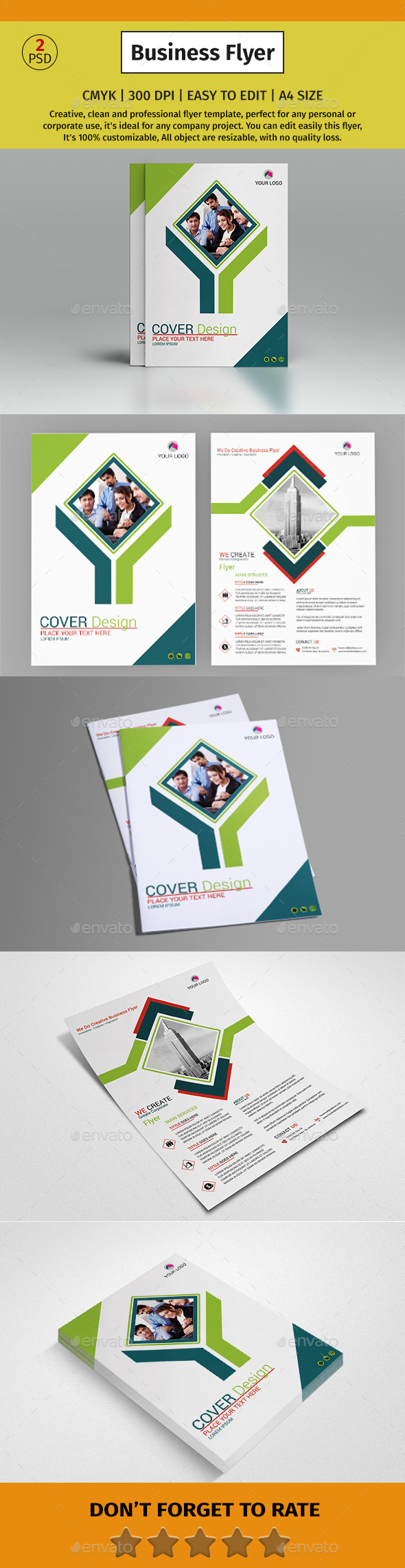 Corporate Business Flyer #50 - Corporate Flyers