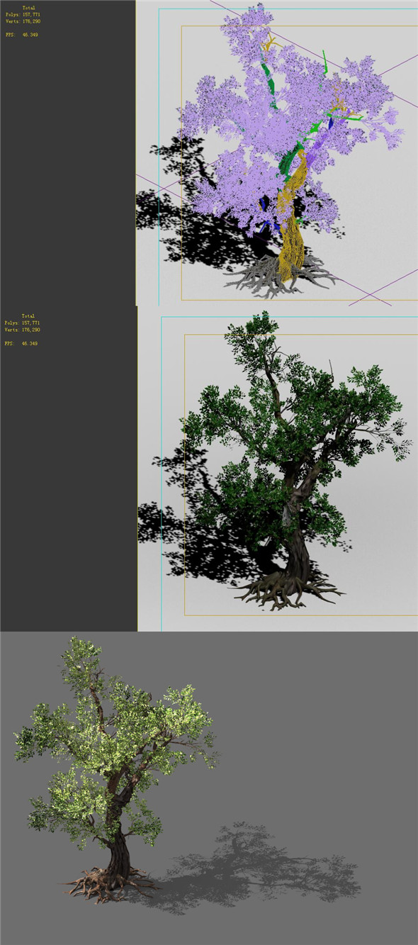 Game Models - Forest - Trees 02 - 3DOcean Item for Sale
