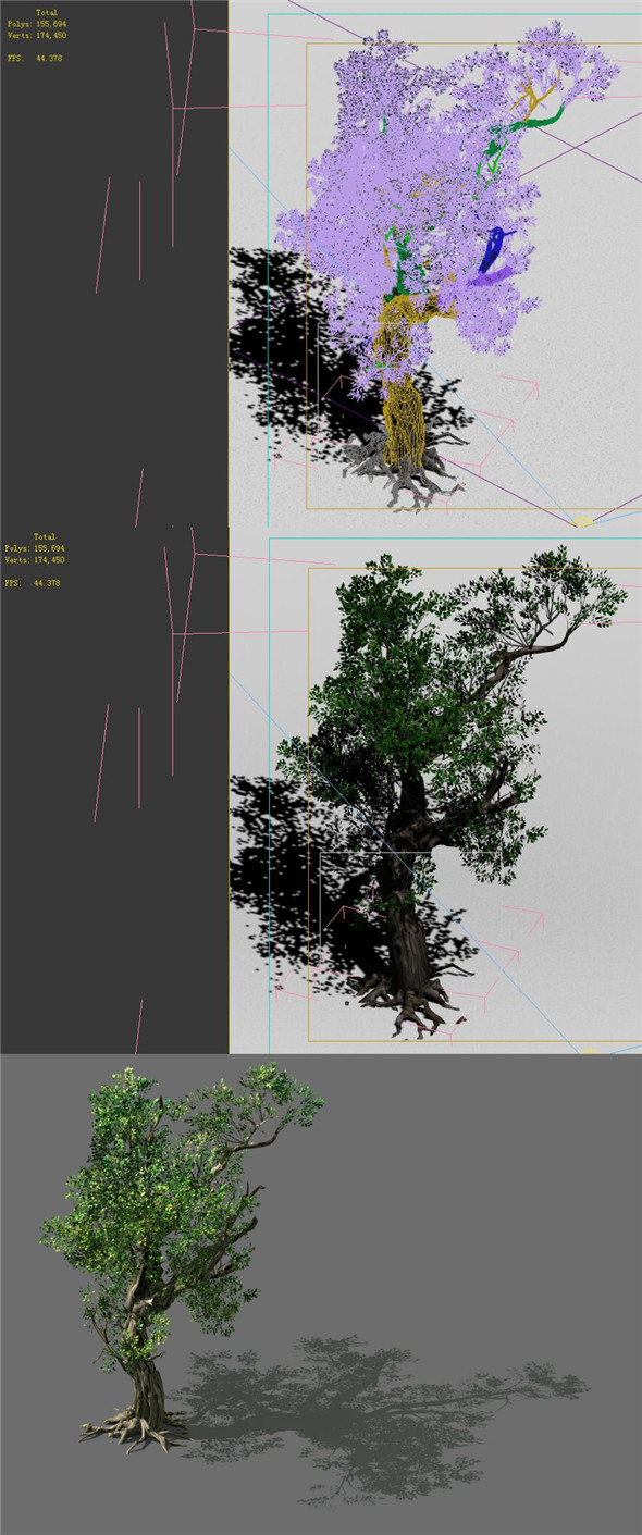 Game Models - Forest - Trees 03 - 3DOcean Item for Sale
