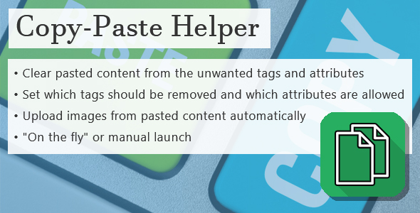 Copy-Paste Helper - CodeCanyon Item for Sale