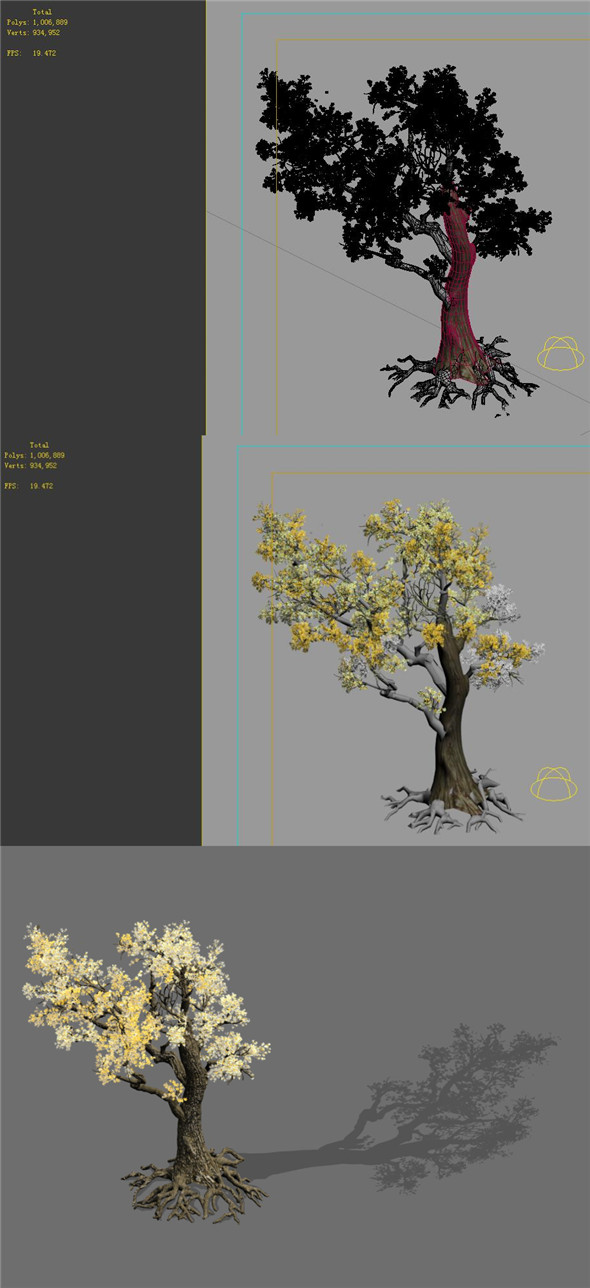 Game Models - Forest - Trees 05 - 3DOcean Item for Sale