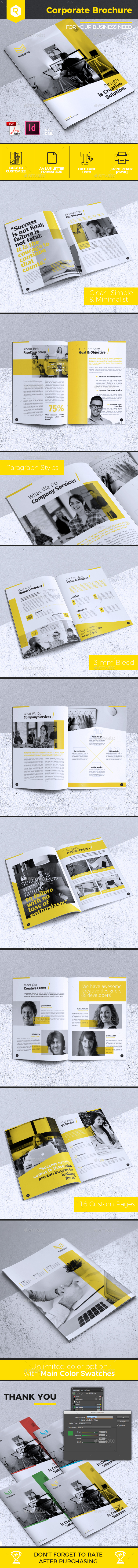Creative Corporate Brochure Vol. 24 - Corporate Brochures