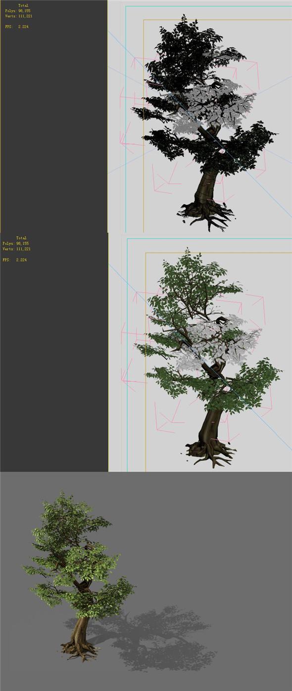 Game Models - Forest - Trees 06 - 3DOcean Item for Sale