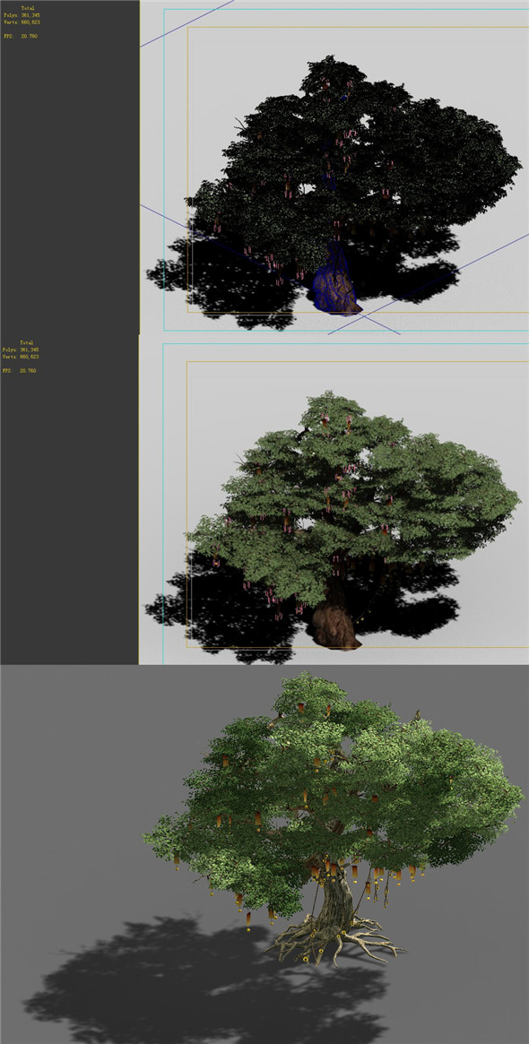 Game Models - Forest - Trees 10 - 3DOcean Item for Sale