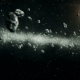 Beautiful Flight Through Asteroid Belt in Open Space - VideoHive Item for Sale