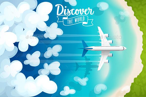 Passenger Plane - Travel Conceptual