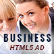 Business | HTML5 Animated Google Banner 04