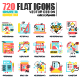 Set of Flat Design Icons - GraphicRiver Item for Sale