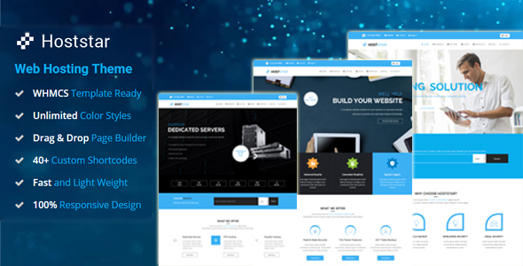HostStar – Web Hosting and Corporate Business WordPress Theme