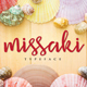 Missaki Typeface - GraphicRiver Item for Sale
