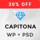 Capitona - App Landing WordPress Theme Nulled
