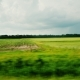 Juicy Green Fields and Farm Land. Ride Along the Picturesque Countryside - VideoHive Item for Sale
