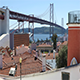 25th of April Bridge Over the Tagus River in Lisbon - VideoHive Item for Sale