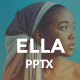 ELLA Creative PowerPoint Template - GraphicRiver Item for Sale