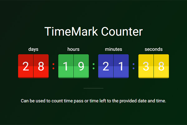 Date counter online in Perth