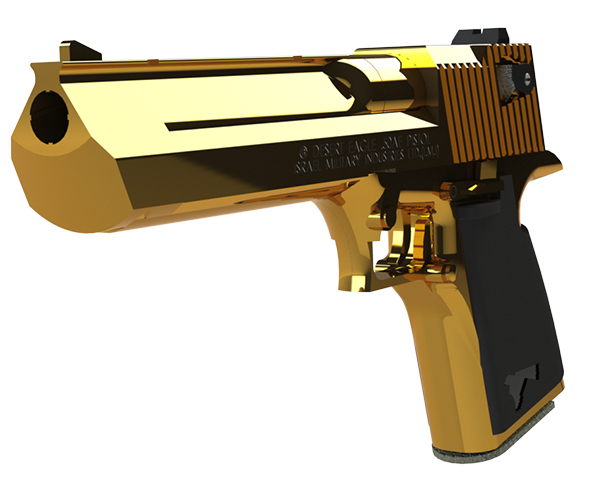 Desert Eagle 50. Calbire Handgun - 3DOcean Item for Sale