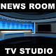 Blue TV Studio - VideoHive Item for Sale