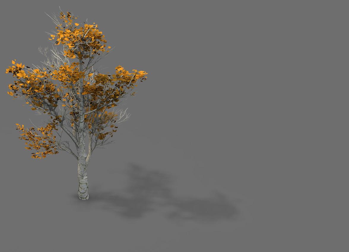 Game Model - Desert - Trees 03