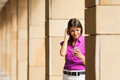 Young Business Woman Using Mobile Phone - PhotoDune Item for Sale