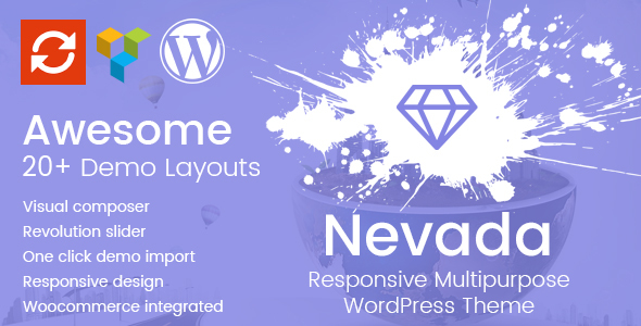 Nevada – Responsive Multipurpose WordPress Theme