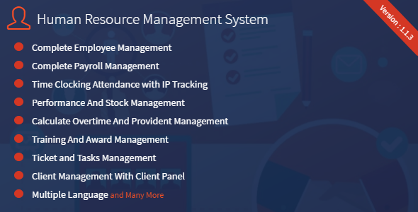 HRM – Human Resource Management System nulled