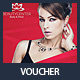 Beauty Center Discount Voucher Template - GraphicRiver Item for Sale