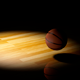 Basketball Bouncing Over Wooden Court - VideoHive Item for Sale
