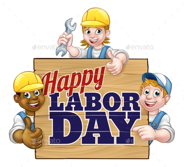 Happy Labor Day Workers Design - Miscellaneous Vectors