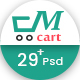 Multicart - Multi Purpose E-commerces PSD Template Nulled