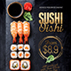 Japanese Sushi Flyer / Poster Template - GraphicRiver Item for Sale