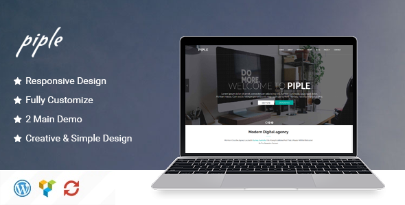 Piple – Creative Multipurpose WordPress Theme