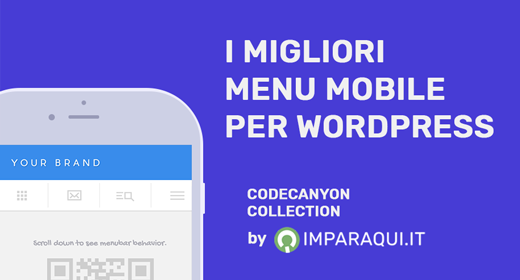 Migliori Menu Mobile per WordPress