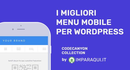 Migliori Menu Mobile per WordPress