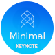 Minimal Business Keynote Template Nulled