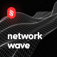 Smooth Network Wave Backgrounds - GraphicRiver Item for Sale