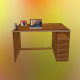 3d table - mobile optimized - 3DOcean Item for Sale