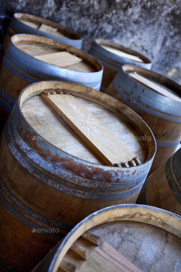 Barrels - Stock Photo - Images