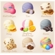 Set of Cartoon Ice Cream Scoops - GraphicRiver Item for Sale