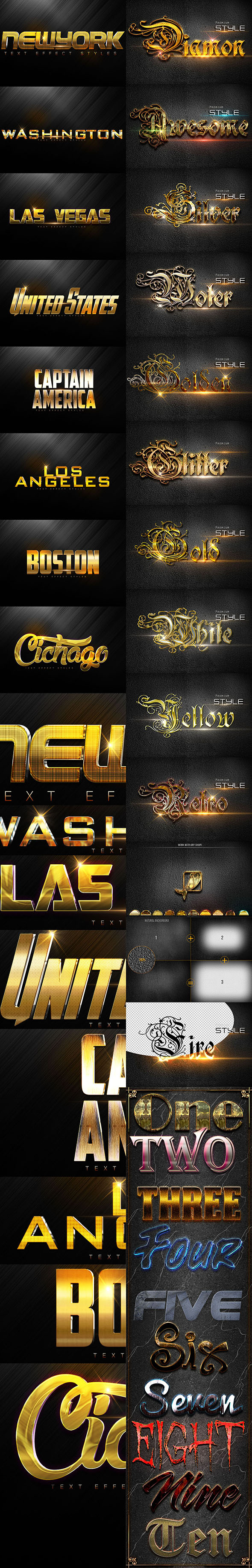 Bundle Style D170614 - Text Effects Styles