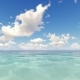 Tropical Ocean and Cloudy Sky 3D Render Nulled