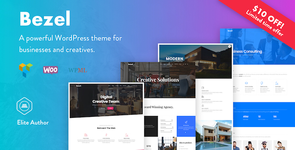Bezel – Creative Multi-Purpose WordPress Theme