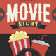 Movie Night / Movie Time Flyer