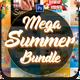 Summer Bundle Flyers Template - GraphicRiver Item for Sale