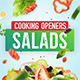Cooking Design Pack - Salads - VideoHive Item for Sale