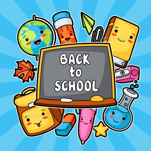 Back To School - Miscellaneous Vectors