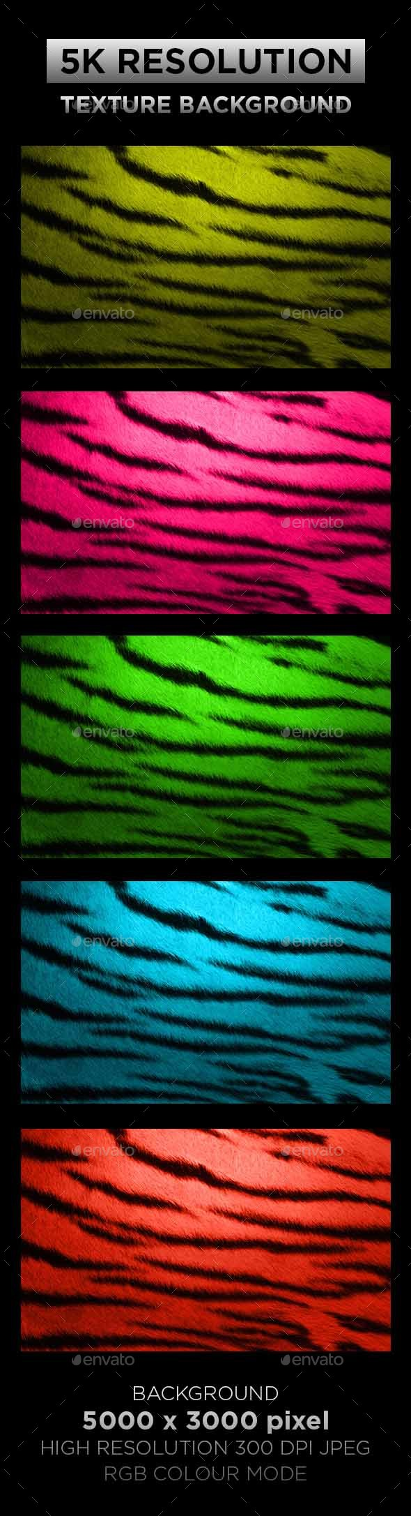 Tiger Texture Background 002 - Backgrounds Graphics