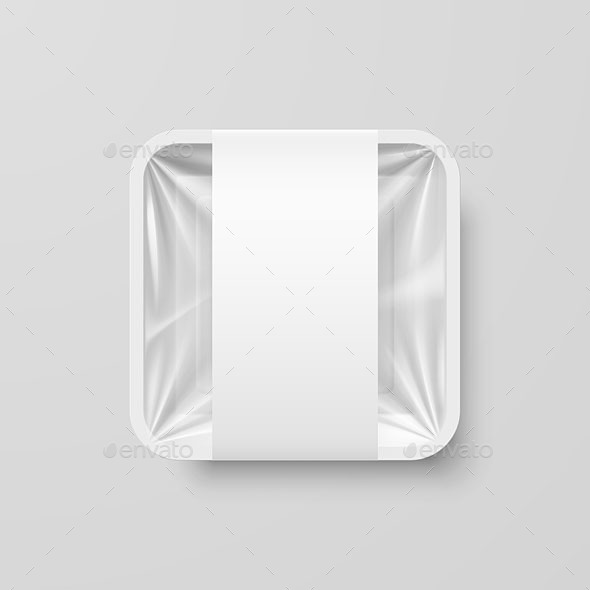 Plastic Food Container - Miscellaneous Vectors