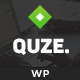 QUZE - Multipurpose Startup WordPress Theme